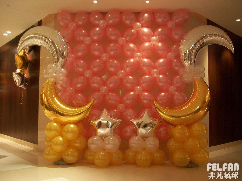 气球墙面造型 图片 87k 1000x750